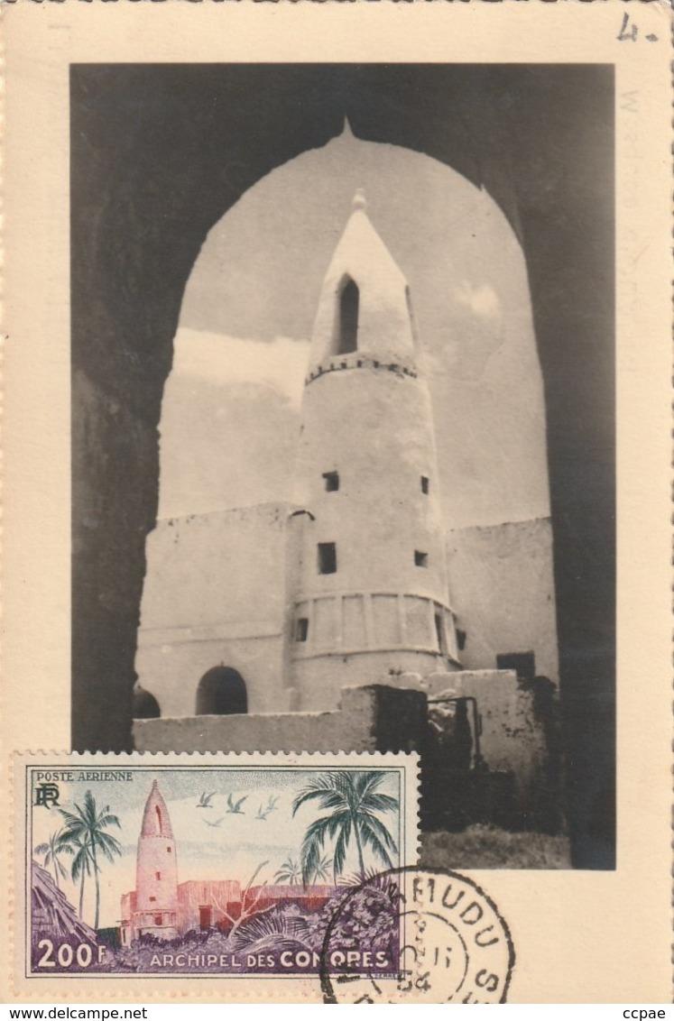 Carte Maximum -  Mosquée D'Ouadni - Anjouan - Komoren
