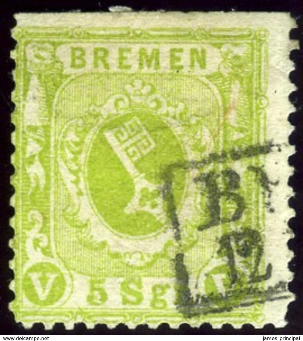Bremen. Michel #15a. Used. - Bremen