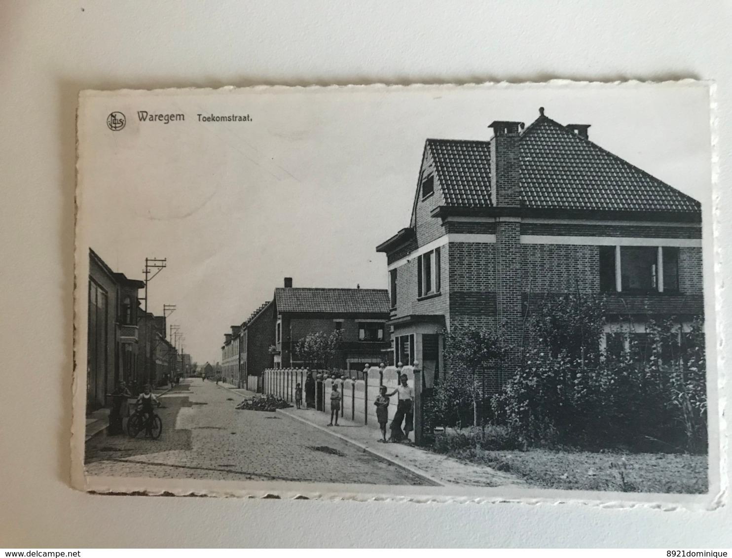 Waregem -  Toekomststraat Ed. Felix Bohez - Waregem