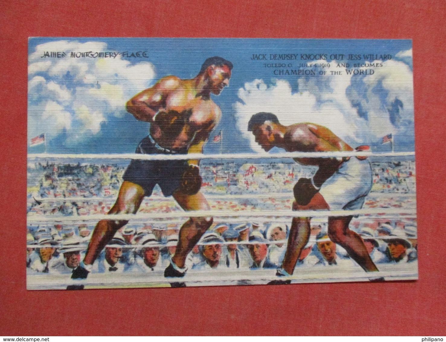 > Boxing Jack Dempsey Knocks Out Jess Willard  > Ref   3600 - Boxing