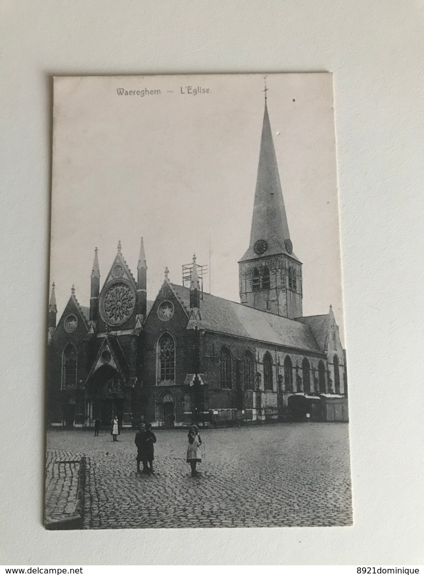 Waregem - Waereghem - Kerk Eglise - Waregem