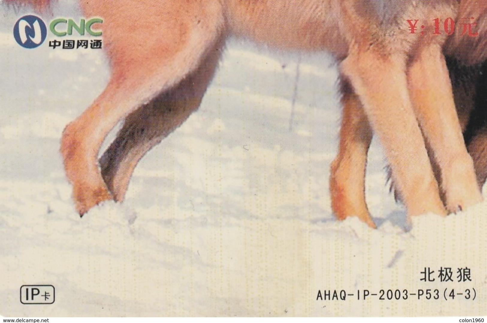 CHINA. PUZZLE. LOBOS - WOLVES. AHAQ-IP-2003-P53(4-3). (049). - Puzzles