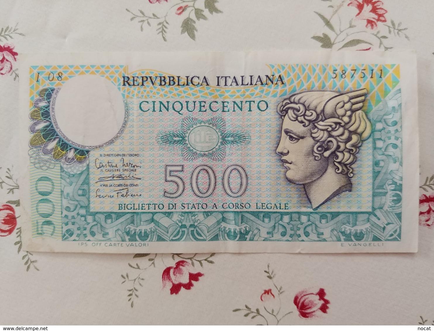500 Lire 14/2/1974 - 500 Lire