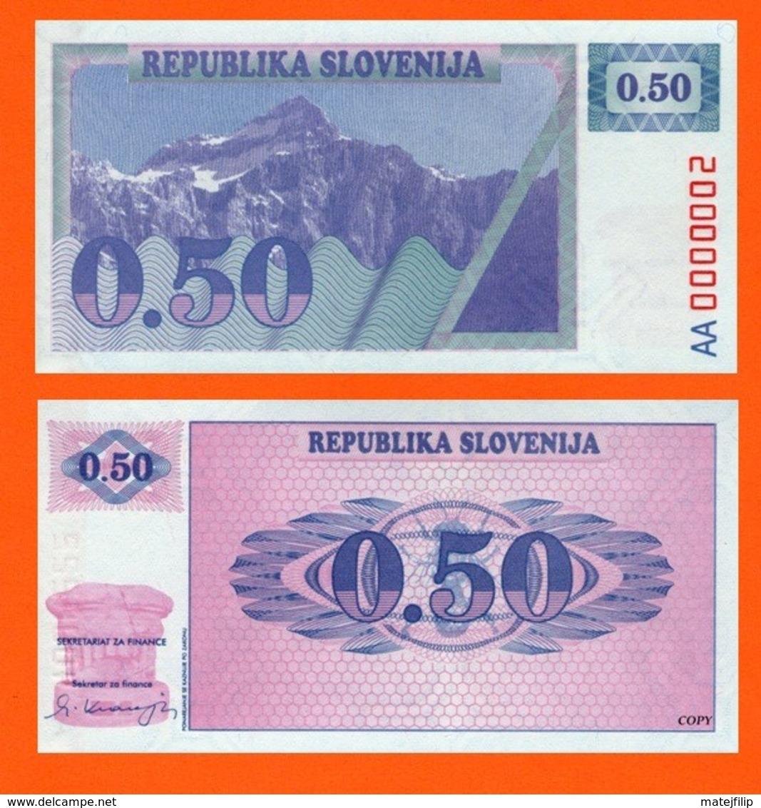 Slovenia 0,5 Tolar 1991 - Slovénie