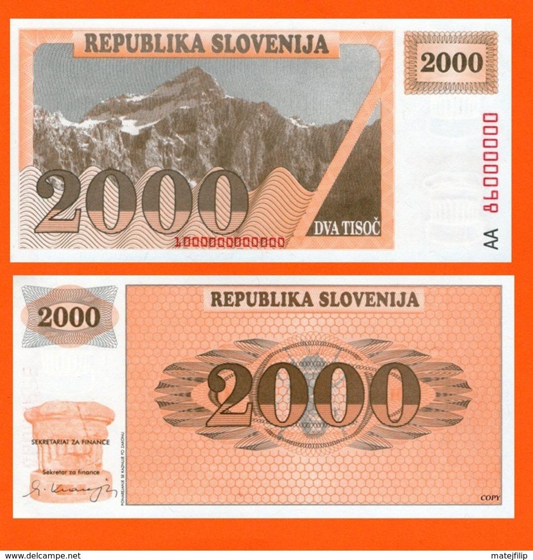 Slovenia 200 Tolar 1991 - Slovénie