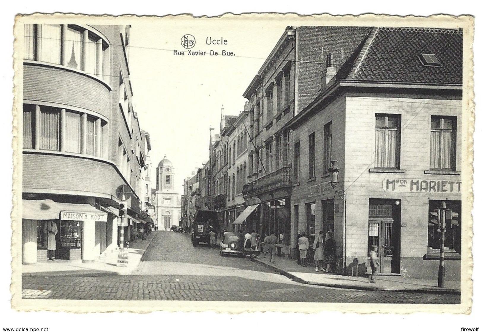 Z07 - Ukkel - Rue Xavier De Bue - Uccle - Ukkel