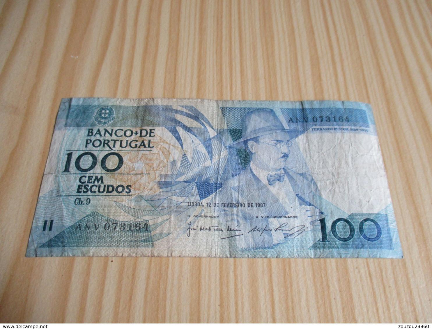 Portugal.Billet 100 Escudos 12/02/1987. - Portugal