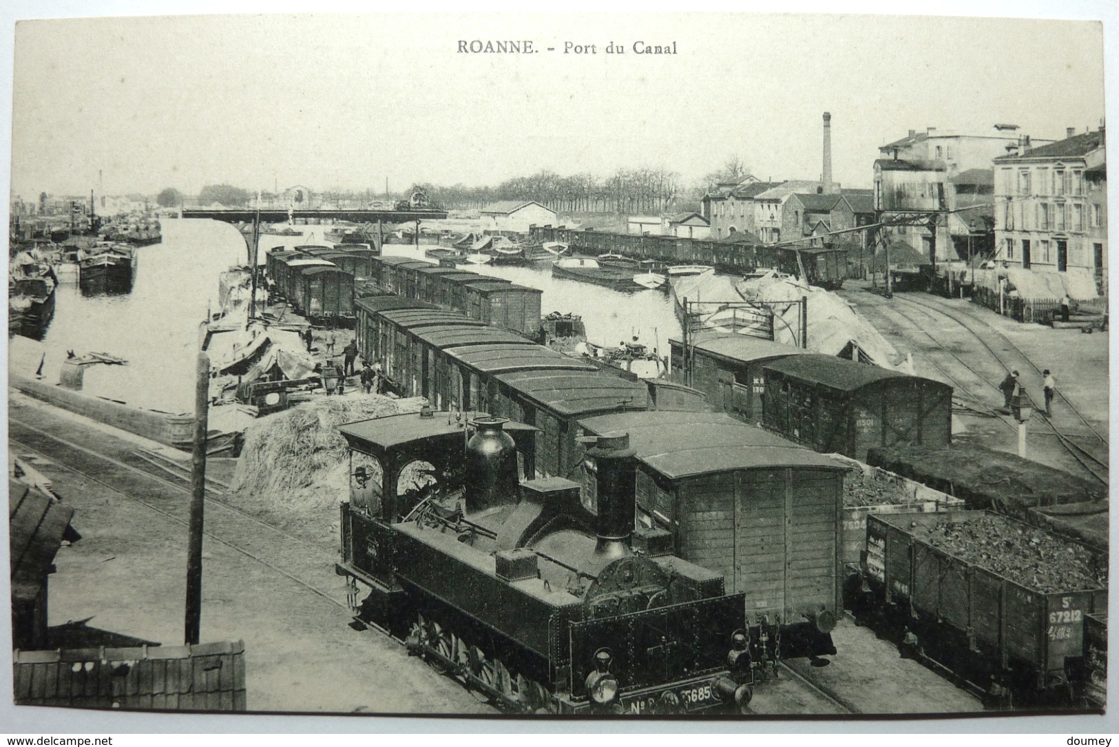 PORT DU CANAL - ROANNE - Roanne