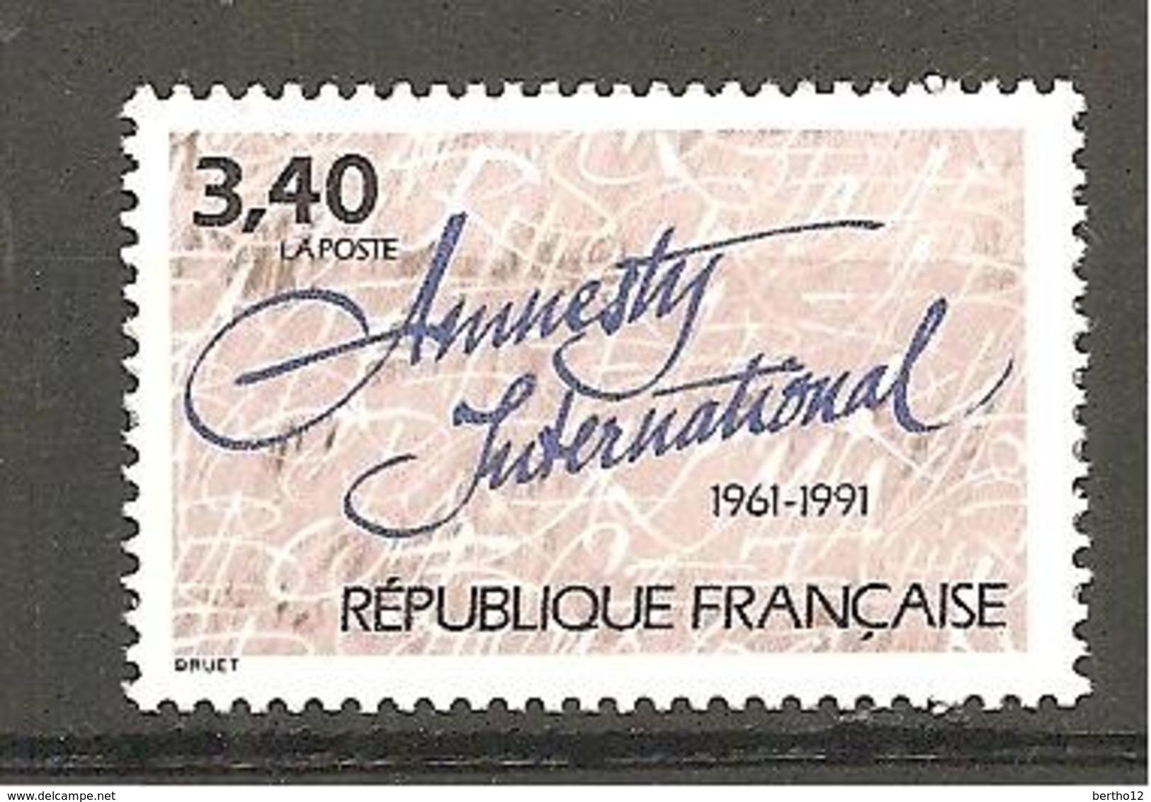 FRANCE 1991 Y T N ° 2728 Neuf** - Frankreich