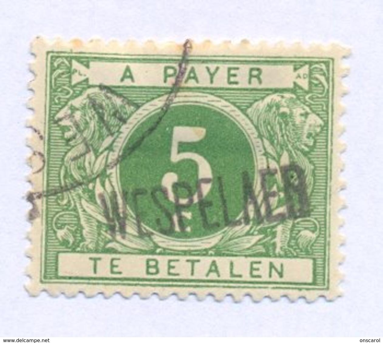 TX12A Met Naamstempel  WESPELAER - Taxes