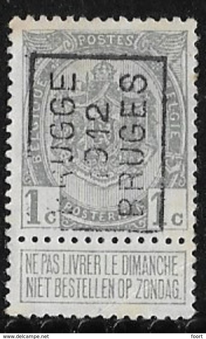 Brugge 1912  Nr. 1818A - Prematasellados