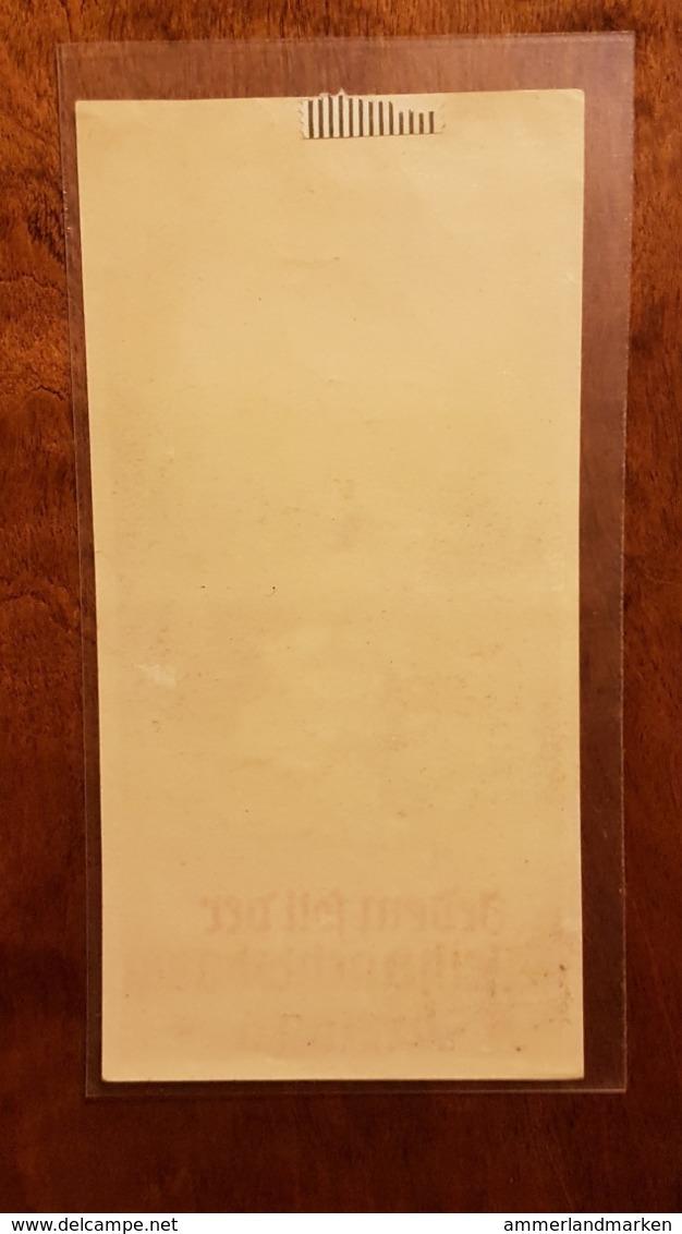 WHW Winterhilfswerk, Türplakette Jedem Soll Der Weihnachtsbaum Brennen - Documenten