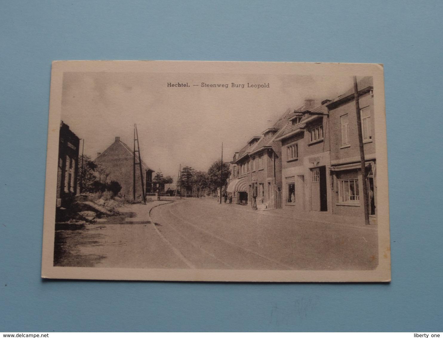 Steenweg BURG LEOPOLD > Hechtel ( Uitg. Palmans-Scheelen ) Anno 1956 ( Zie/voir Photo ) ! - Hechtel-Eksel