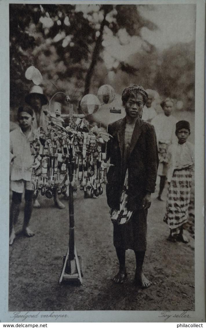 Ned. Indie - Indonesia / Speelgoed Verkoper - Toy Seller 19?? Uitg. G. Kolff & Co - Indonesië