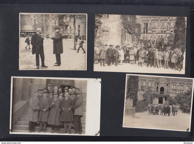 Lot AKs Verein Fürs Deutschtum Im Ausland Heidelberg 1928 - Schools