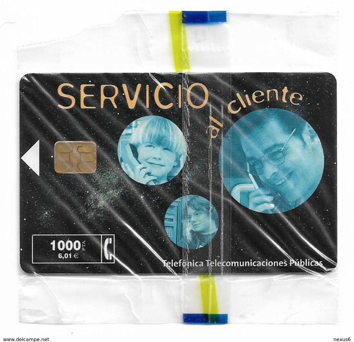 Spain - Telefonica - Servicio Al Cliente VIIIa - P-451A - 02.2001, 26.500ex, NSB - Emisiones Privadas