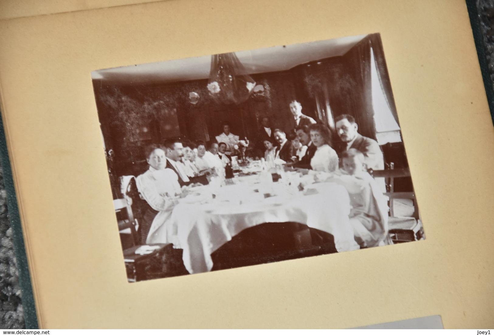 Magnifique Album De Famille De Militaires,musiciens,Paris Lyon Genève - Albums & Collections