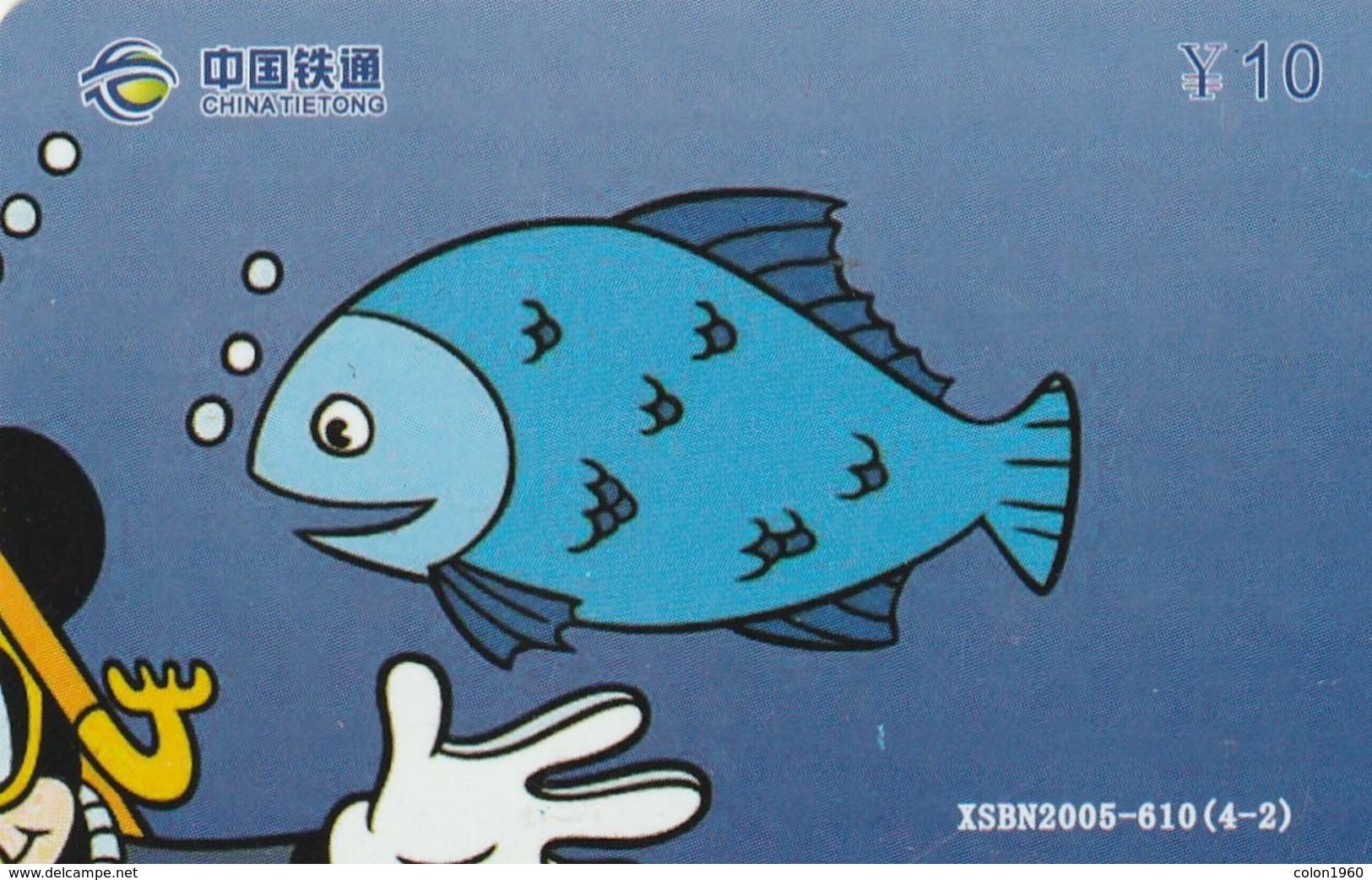 CHINA. DISNEY, COCA COLA. MICKEY MOUSE. XSBN2005-610(4-2). (140). - Puzzles