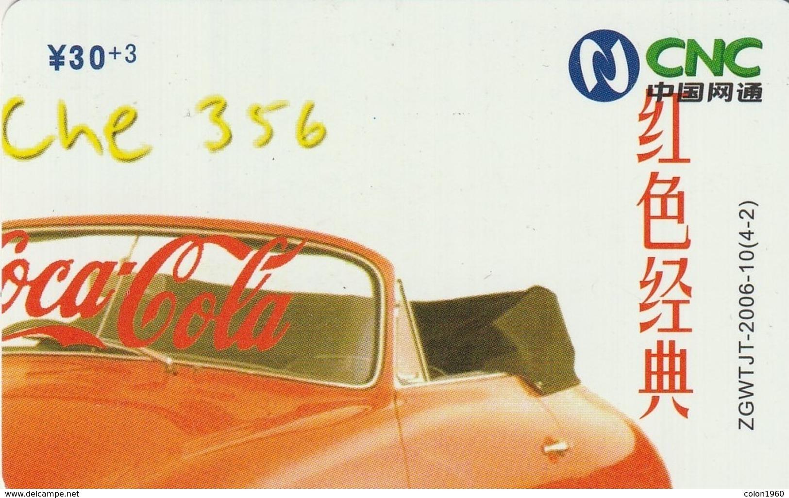 CHINA. COCA COLA. COCHE, PORSCHE 356. ZGWTJT-2006-10(4-2). (186). - Puzzles