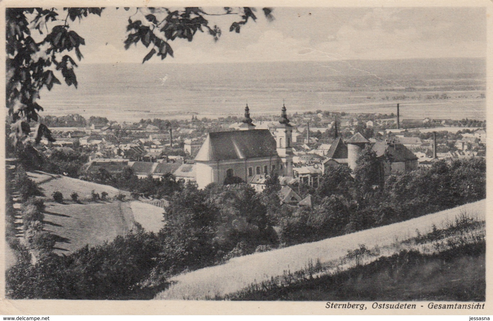 AK - Tschechien - Ostsudeten - Sternberg - 1944 - Tschechische Republik