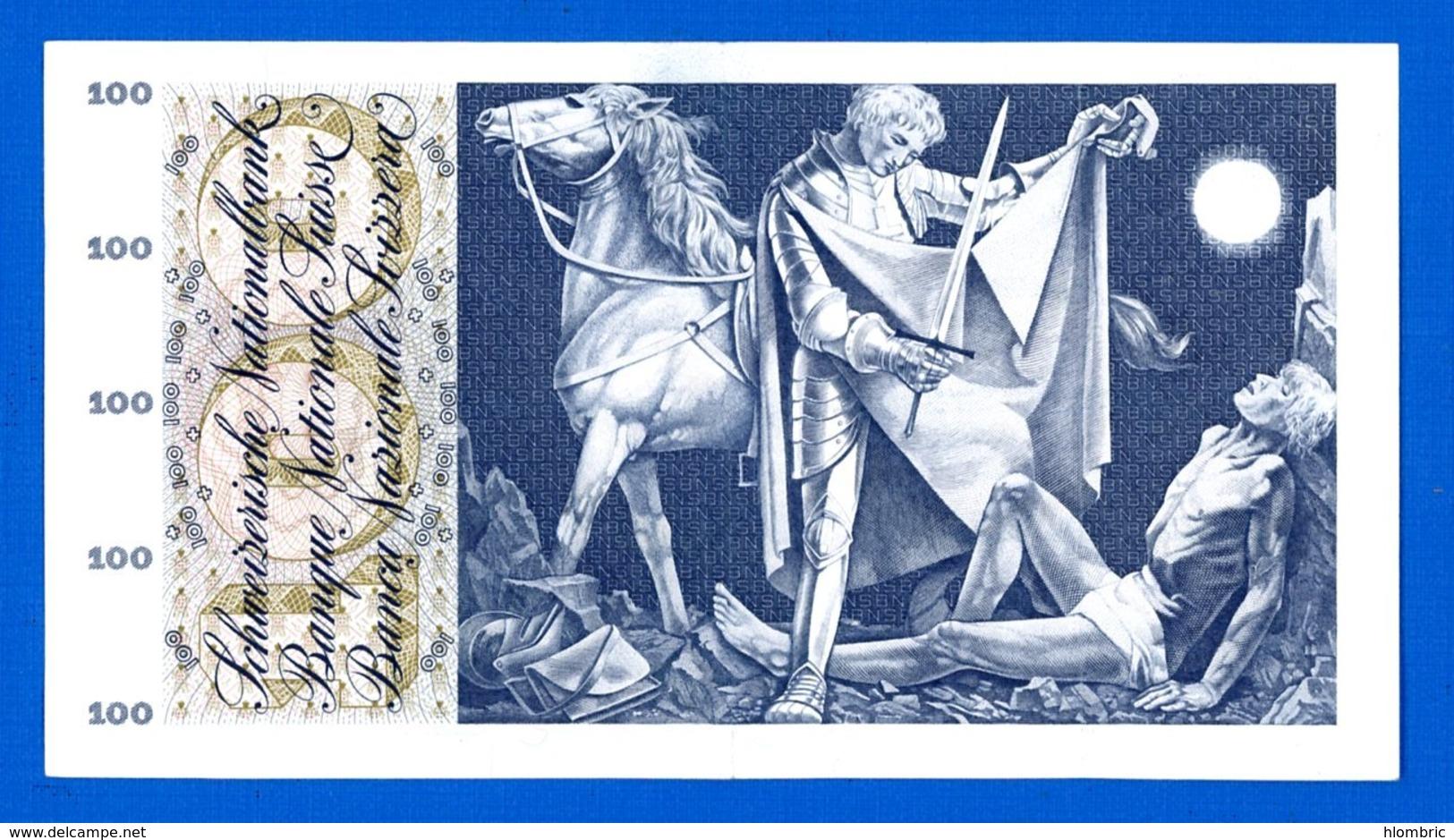 100 Fr  Du  24/ 1/1972 - Suiza