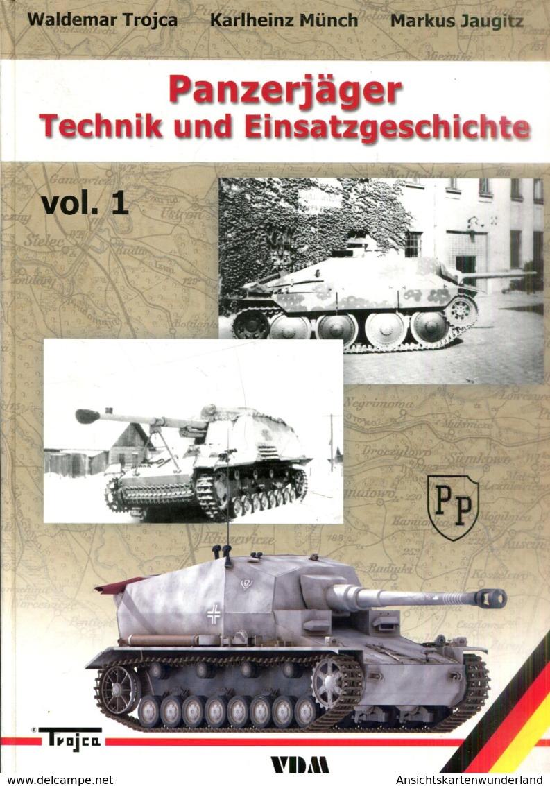 Panzerjäger - Technik Und Einsatzgeschichte Vol. 1 U. 2 - Bücher