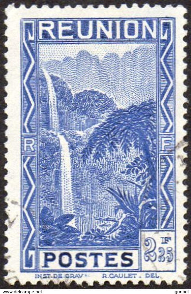 Réunion Obl. N° 173 - Vue -> Bras Des Demoiselles Le 2f25 Bleu - Réunion (1852-1975)