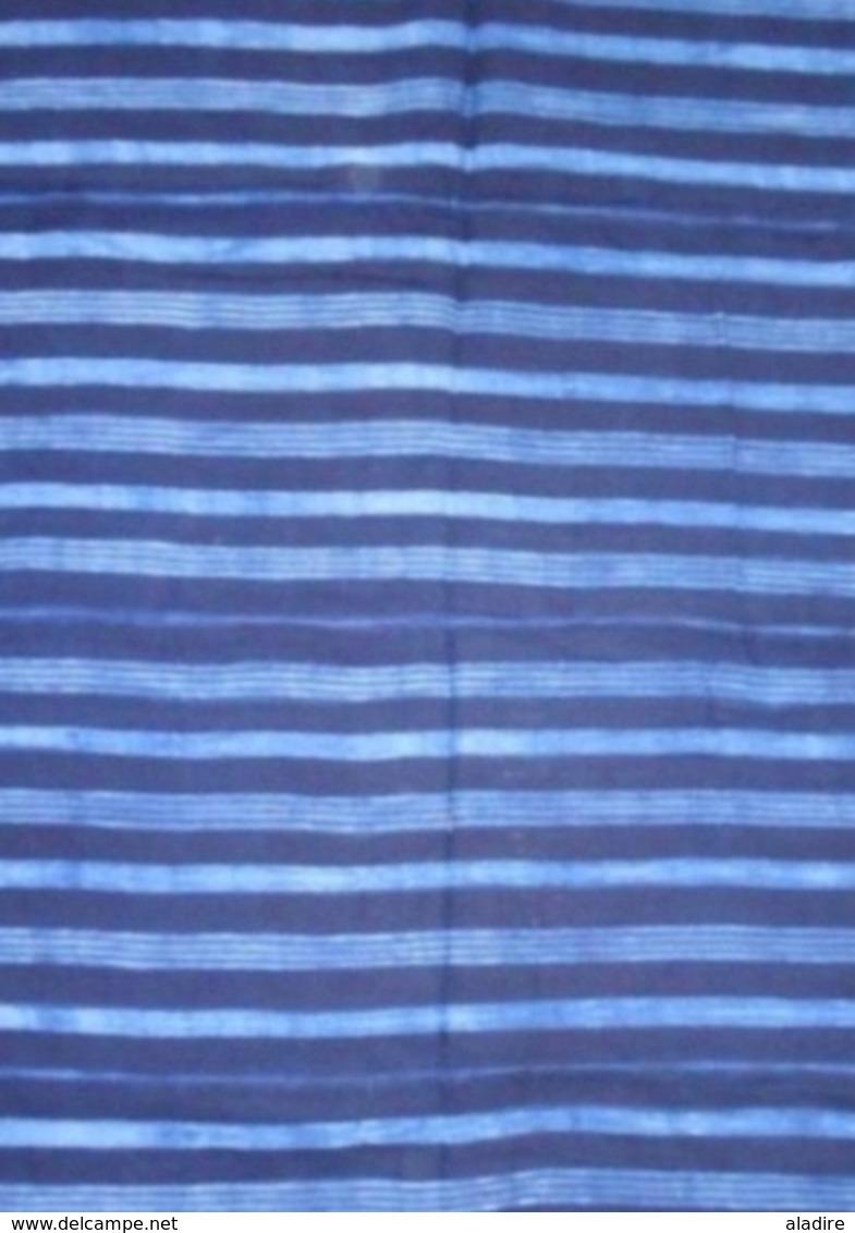 Lèpi - Tissu Traditionnel Peulh / Fulani, Guinée Conakry - Coton Tissé Traditionnellement - Dimensions 133 X 100 Cm - Art Africain