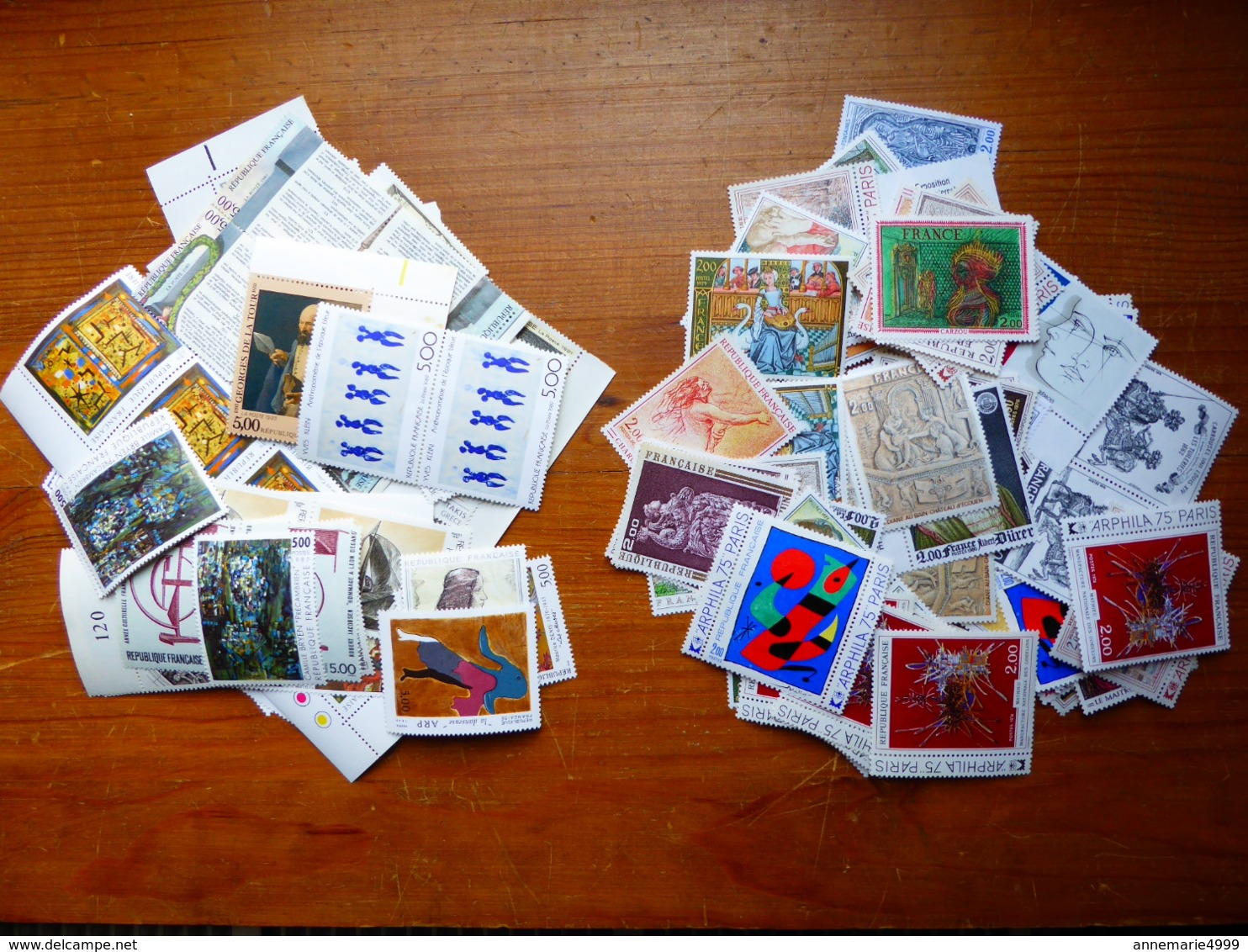 FRANCE  Faciale 100 Fois 5,00 Francs + 100 Fois 2,00 F, Pour 100 Lettres Tarif à 1,05€ , Moins 50% Neufs Sans Charnières - Collections