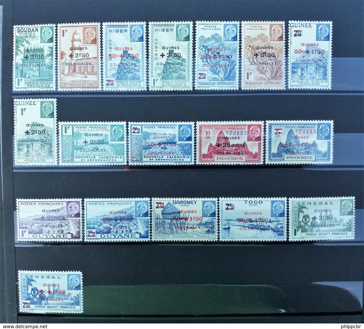 Importante Collection Colonies - Séries Coloniales - Grande Majorité ** - Plus De 2900 € De Cote Yvert - Non Classés