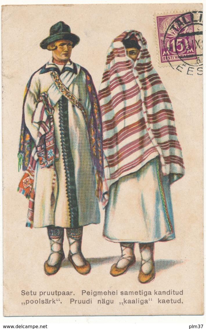 ESTONIE - Estonian National Costumes - Tartu - Estonie