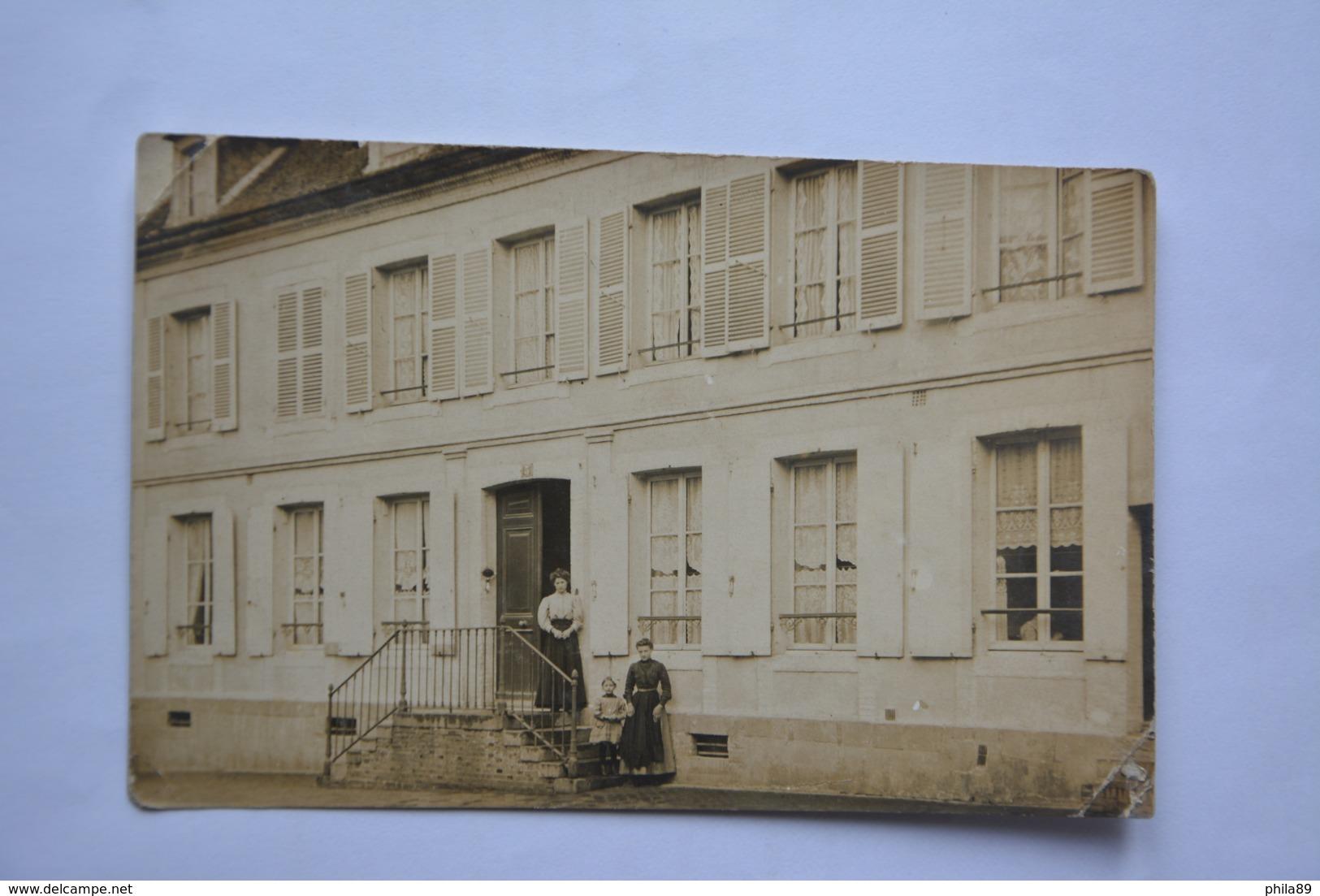 Carte-photo Sans Indication -ecrite  De L'AIGLE - L'Aigle