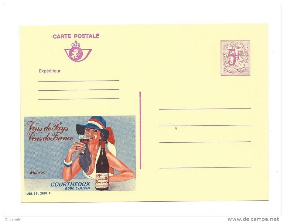 Publibel Neuve  N° 2687 ( Vin De France) - Stamped Stationery