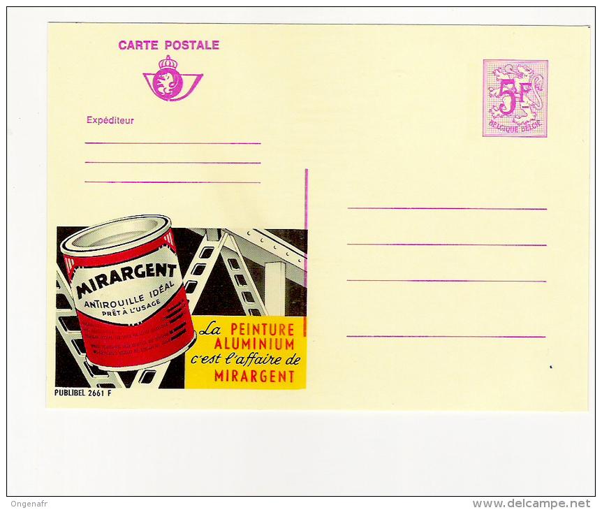 Publibel Neuve N°  2661 (MIRARGENT, Peinture Aluminium) - Publibels