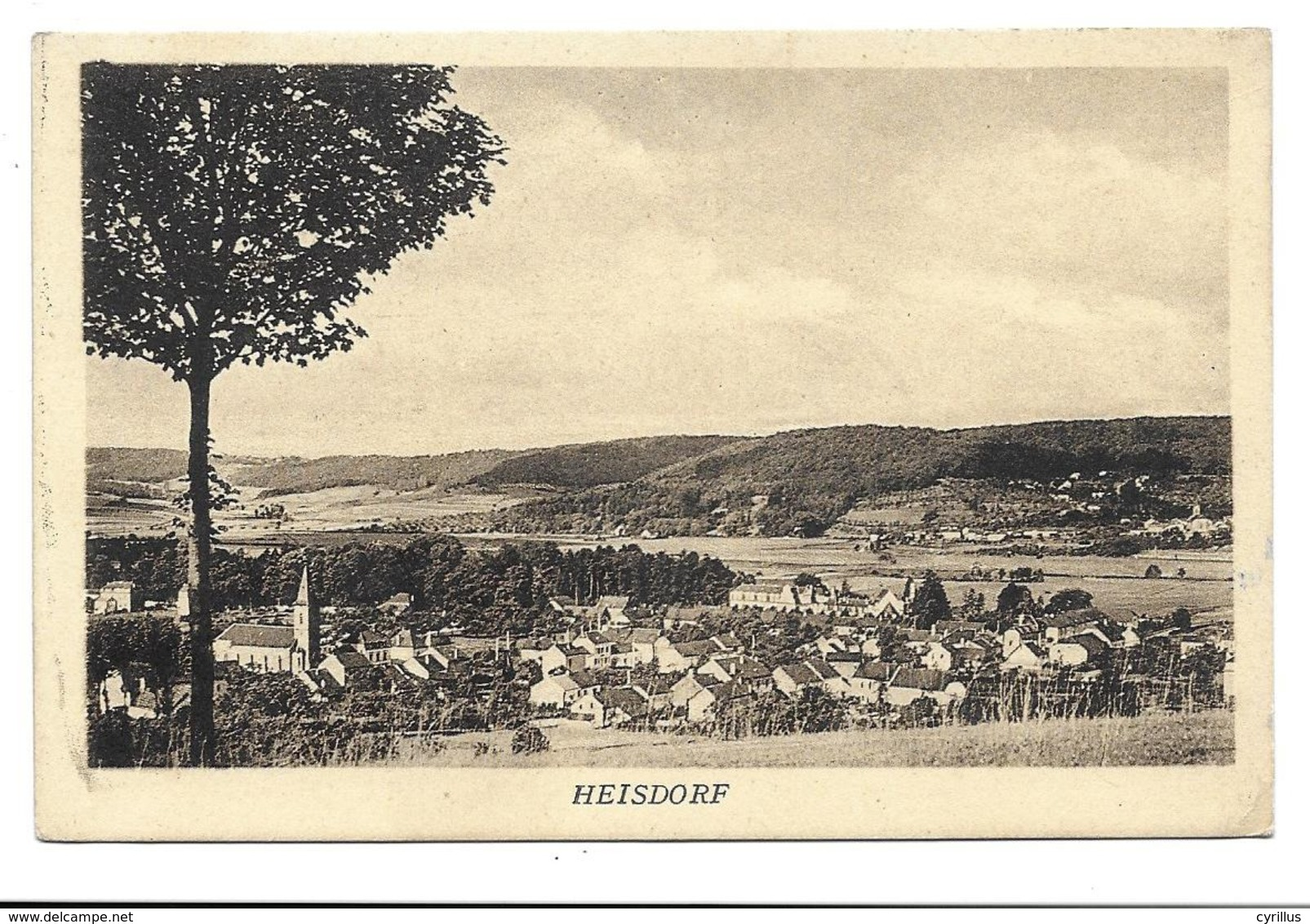 HEISDORF - Vue Générale - Cartoline
