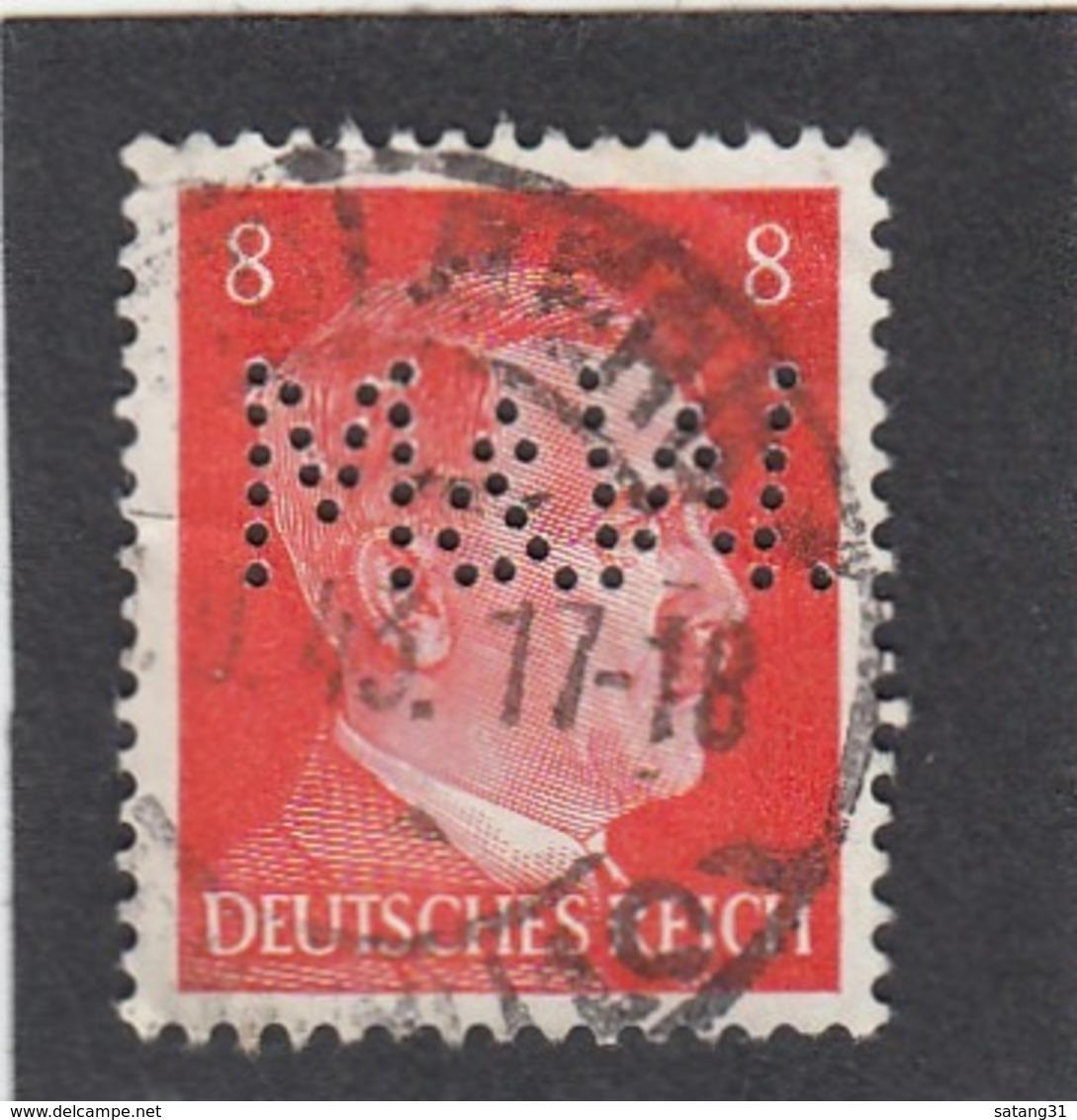 PERFIN/PERFORATION/FIRMENLOCHUNG . A. H. KOPF 8 PF. - Deutschland