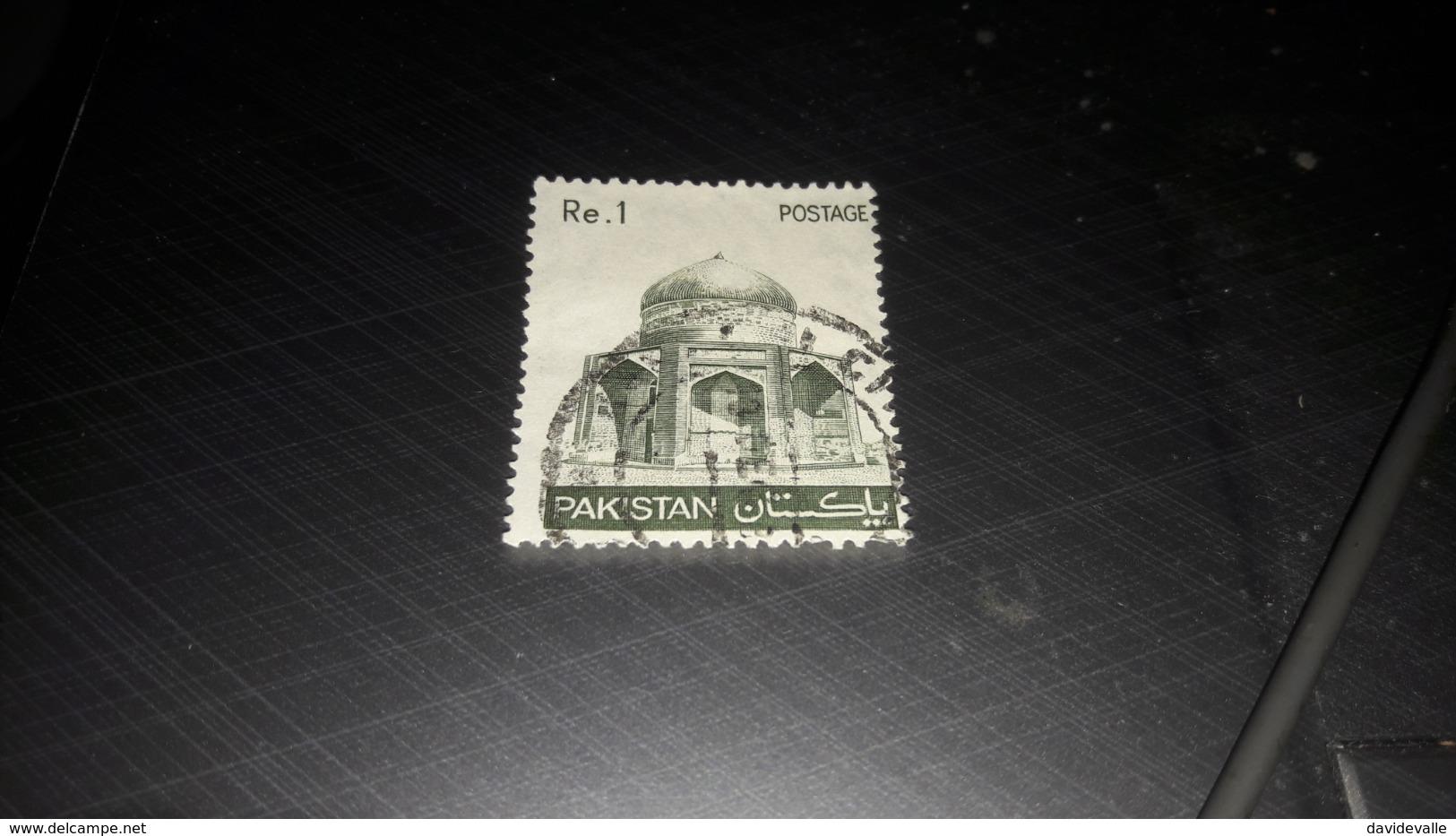 Pakistan 1979 Mausoleo Di Ibrahim Khan Makli - Pakistan