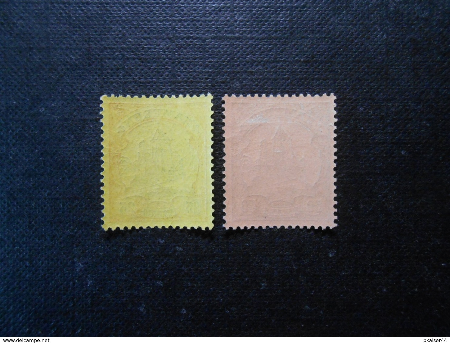 D.R.11/14  25Pf**MNH/50Pf*MLH  Deutsche Kolonien (Kamerun) 1900  Mi 7,40 € - Kolonie: Kameroen