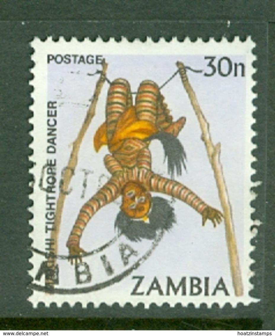 Zambia: 1981/83   Pictorial    SG345   30n     Used - Zambia (1965-...)