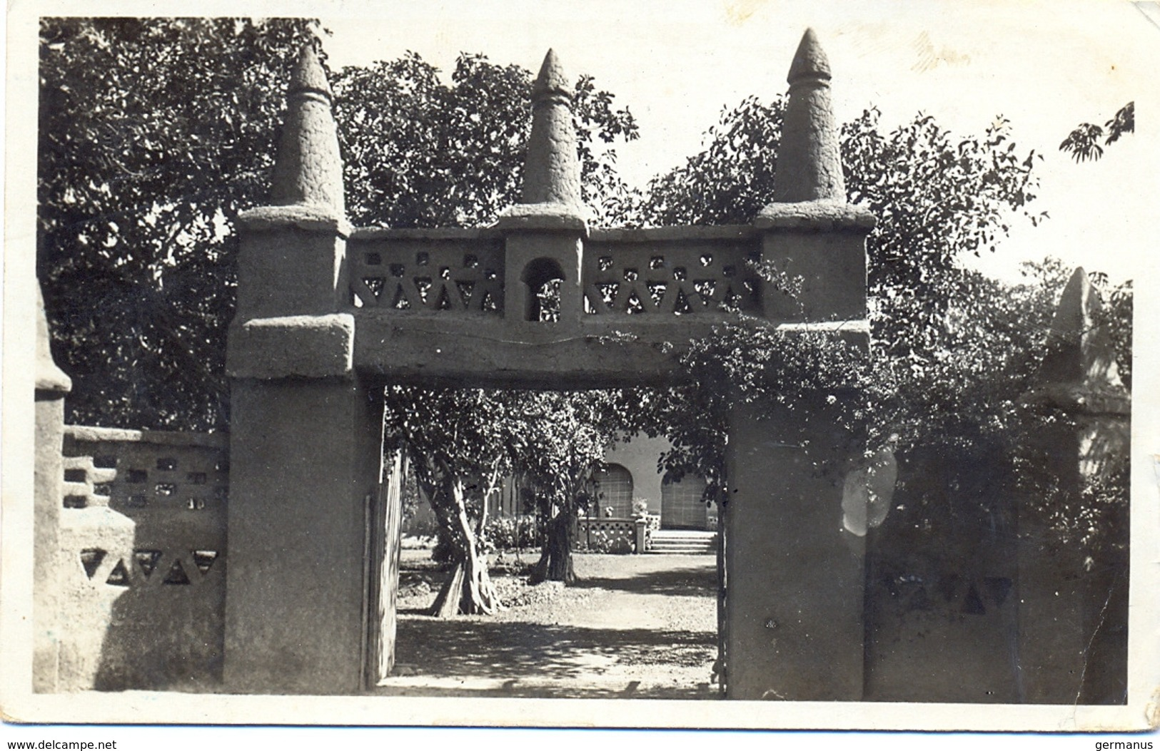 GUERRE 39-45 DIVISION MILITAIRE NIGER-OUEST * PLACE DE NIAMEY * NIGER TàD 9 JUIL 41 - Marcofilia (sobres)