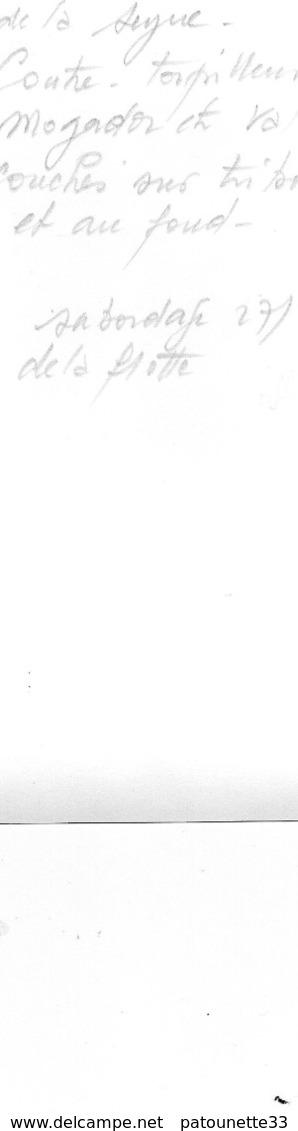 83 LA SEYNE PHOTO SABORDAGE DE LA FLOTTE 27/11/42 LES CHANTIERS CONTRE TORPILLEURS MOGADOR ET VALMY COUCHES TRIBORD - La Seyne-sur-Mer