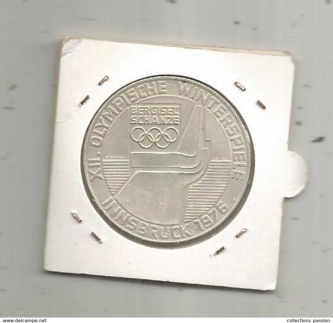Monnaie ,  AUTRICHE , REPUBLIK OSTERREICH ,100 Schilling ,XII Olympische Winterspiele, Innsbruck 1976 ,frais Fr 1.85 E - Autriche
