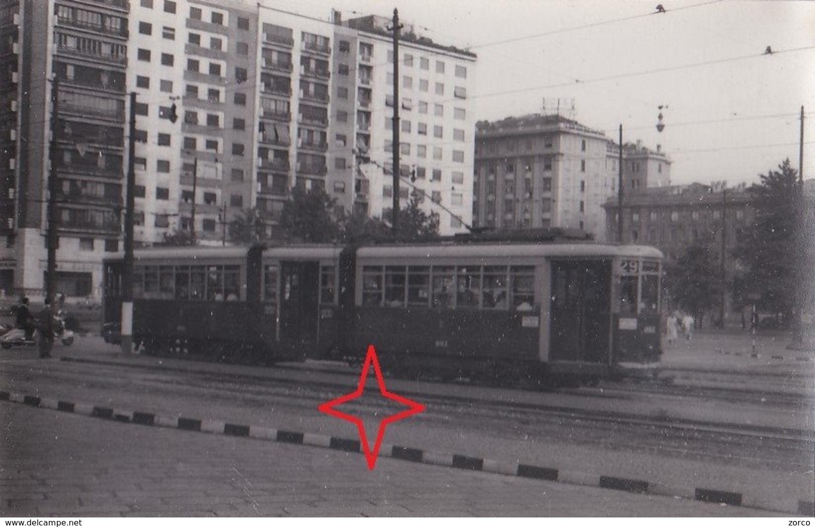 MILANO Foto Di TRAMWAY. Ligne 29. - Milano
