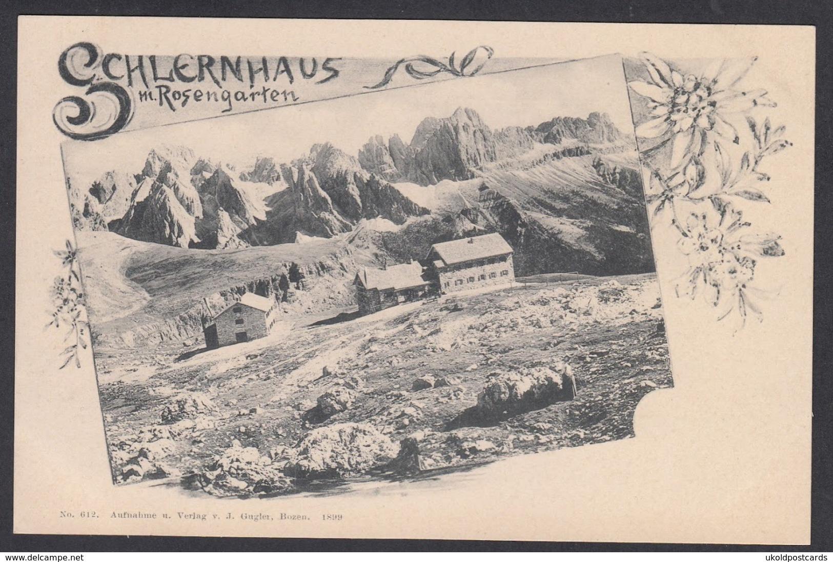 Italia  -  SCHLERNHAUS Mit Rosengarten - Bolzano (Bozen)