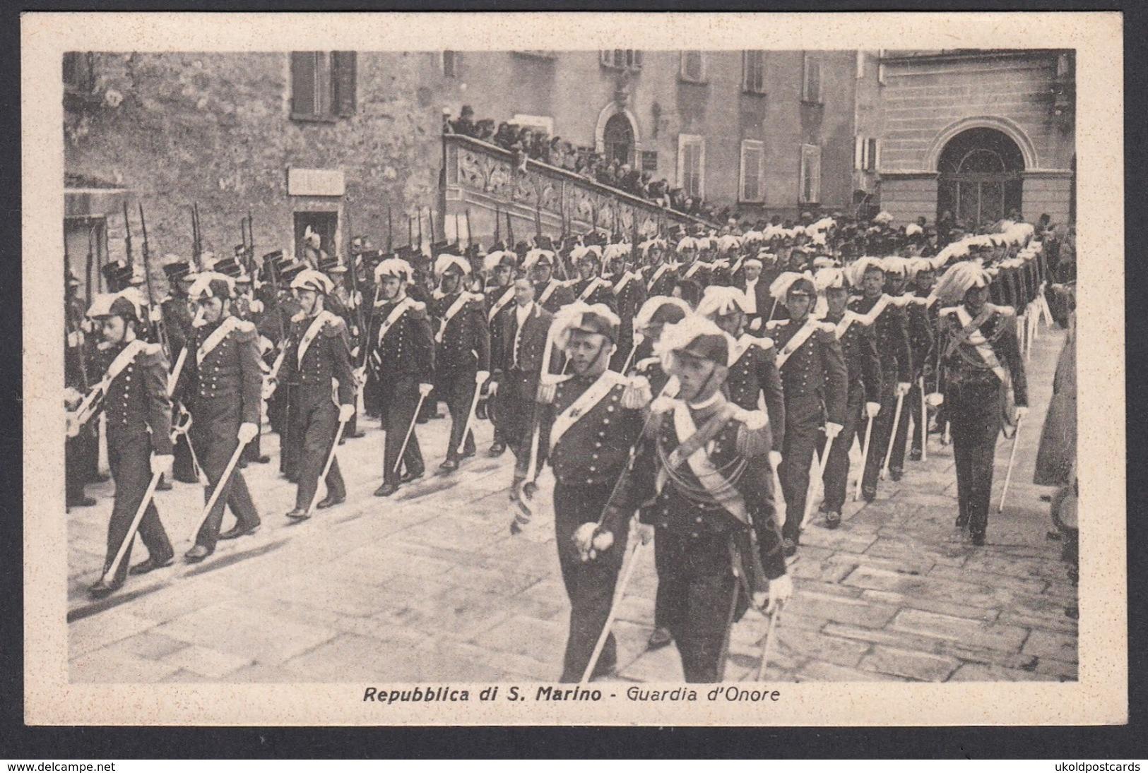 CPA - SAN MARINO,  Guardia D'Onore - San Marino