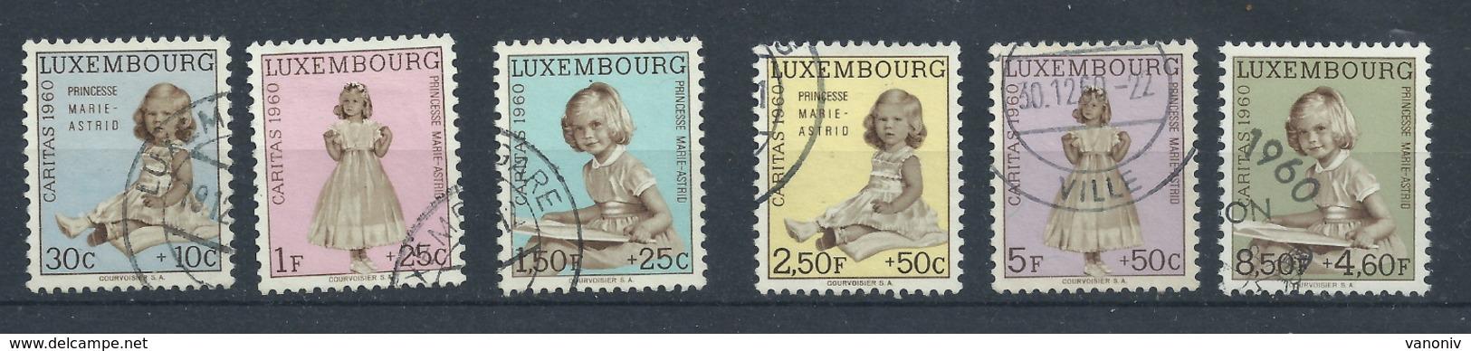 Luxemburg 631/636 Gest. - Luxemburgo