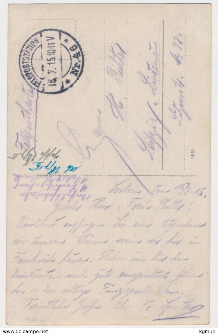 Sorbon Bei Rethel - 1915 - Original Foto - Rethel