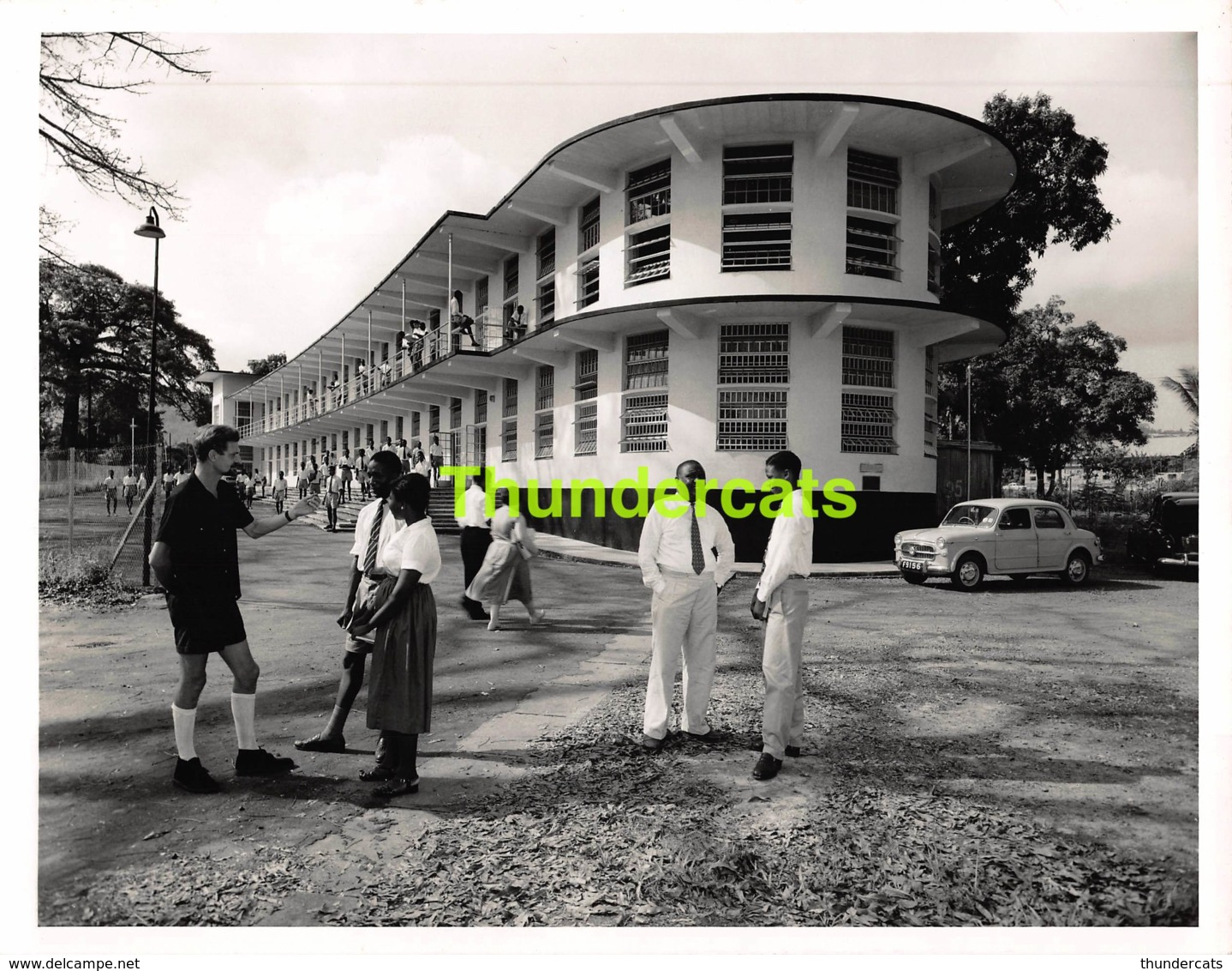 ANCIENNE PHOTO 1960 SIERRA LEONE WEST AFRICA VINTAGE PRESS PHOTO 17 CM X 21 CM FOTO FREETOWN PRINCE OF WALES SCHOOL - Orte