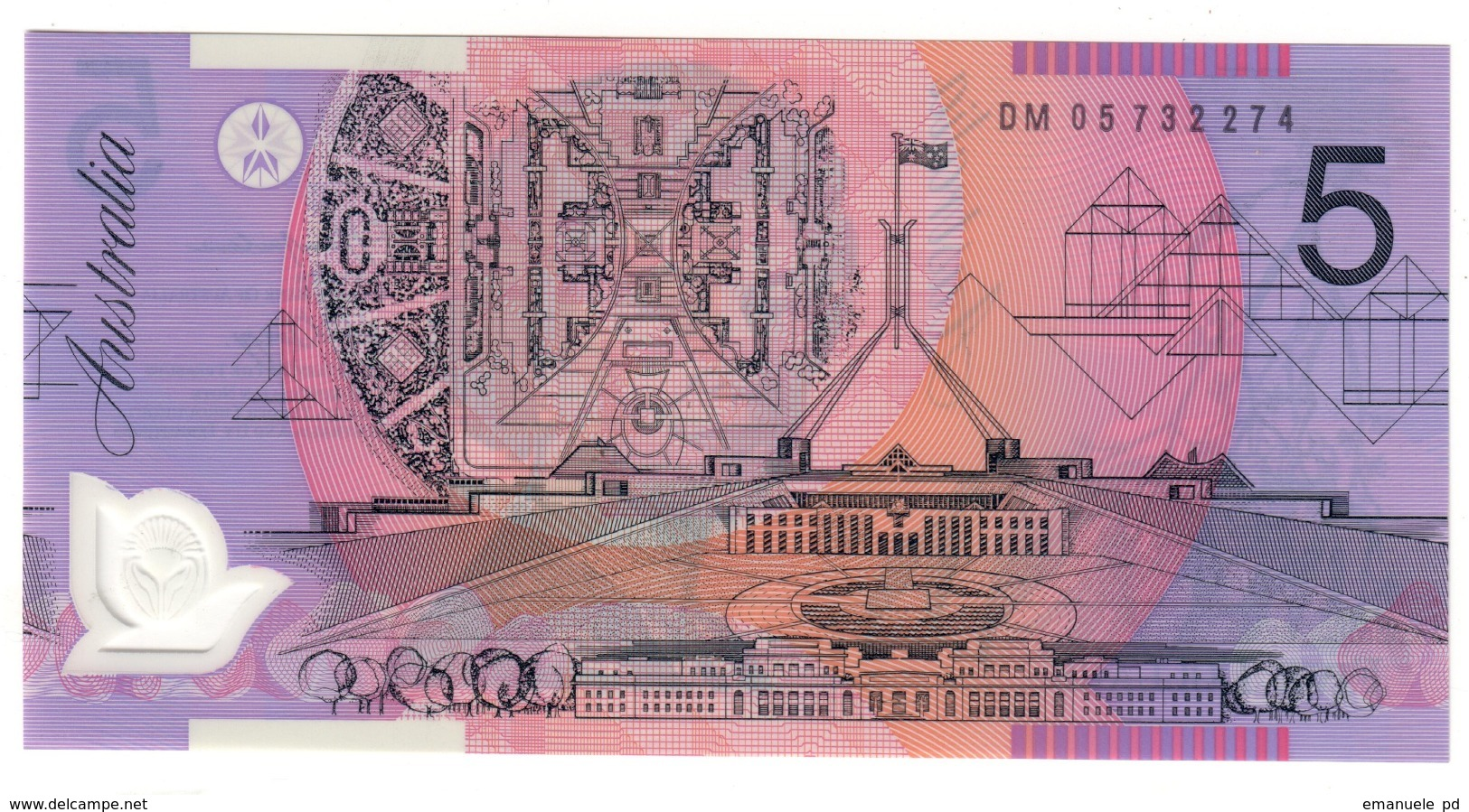 Australia 5 Dollars 2005 UNC .PL. - Emissioni Governative Decimali 1966-...