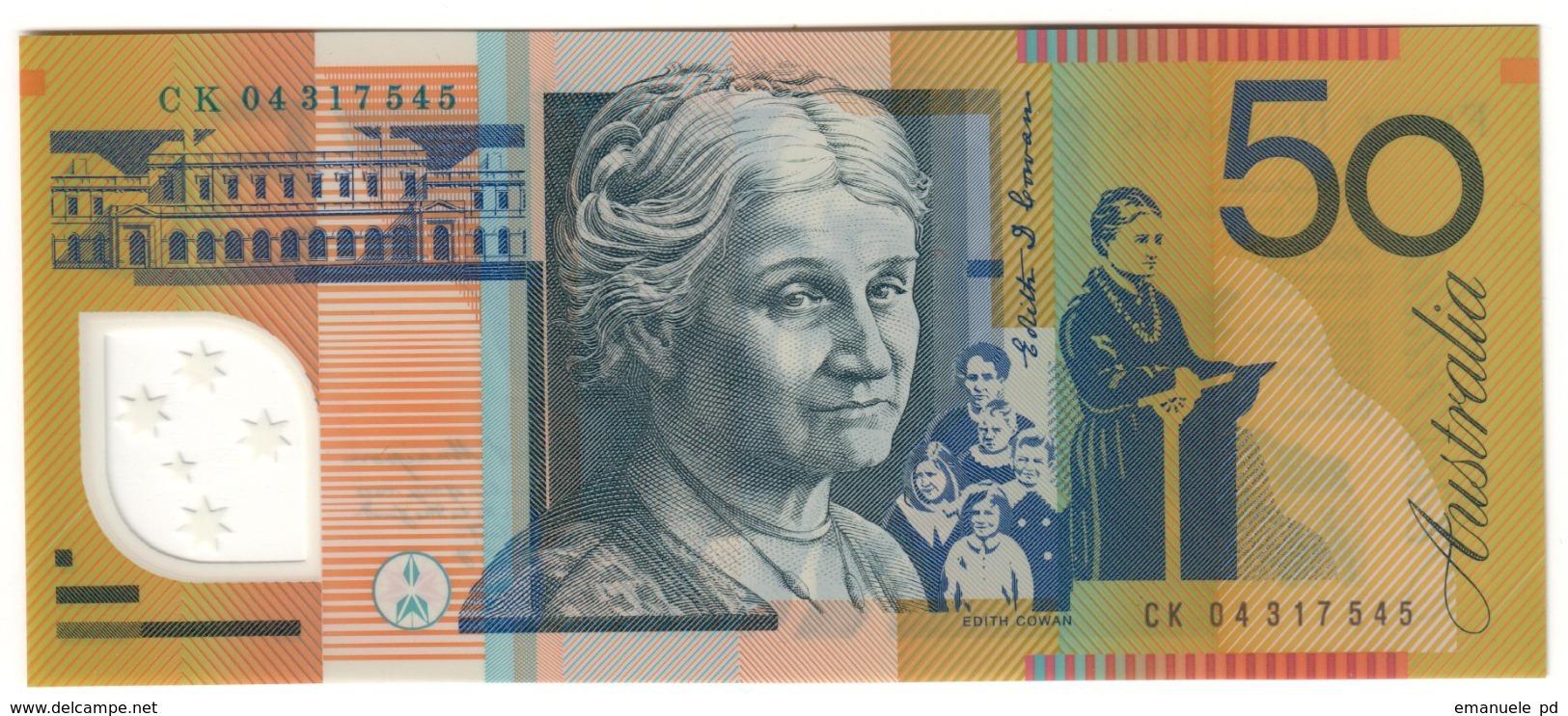 Australia 50 Dollars 2004 UNC .PL. - Emissioni Governative Decimali 1966-...